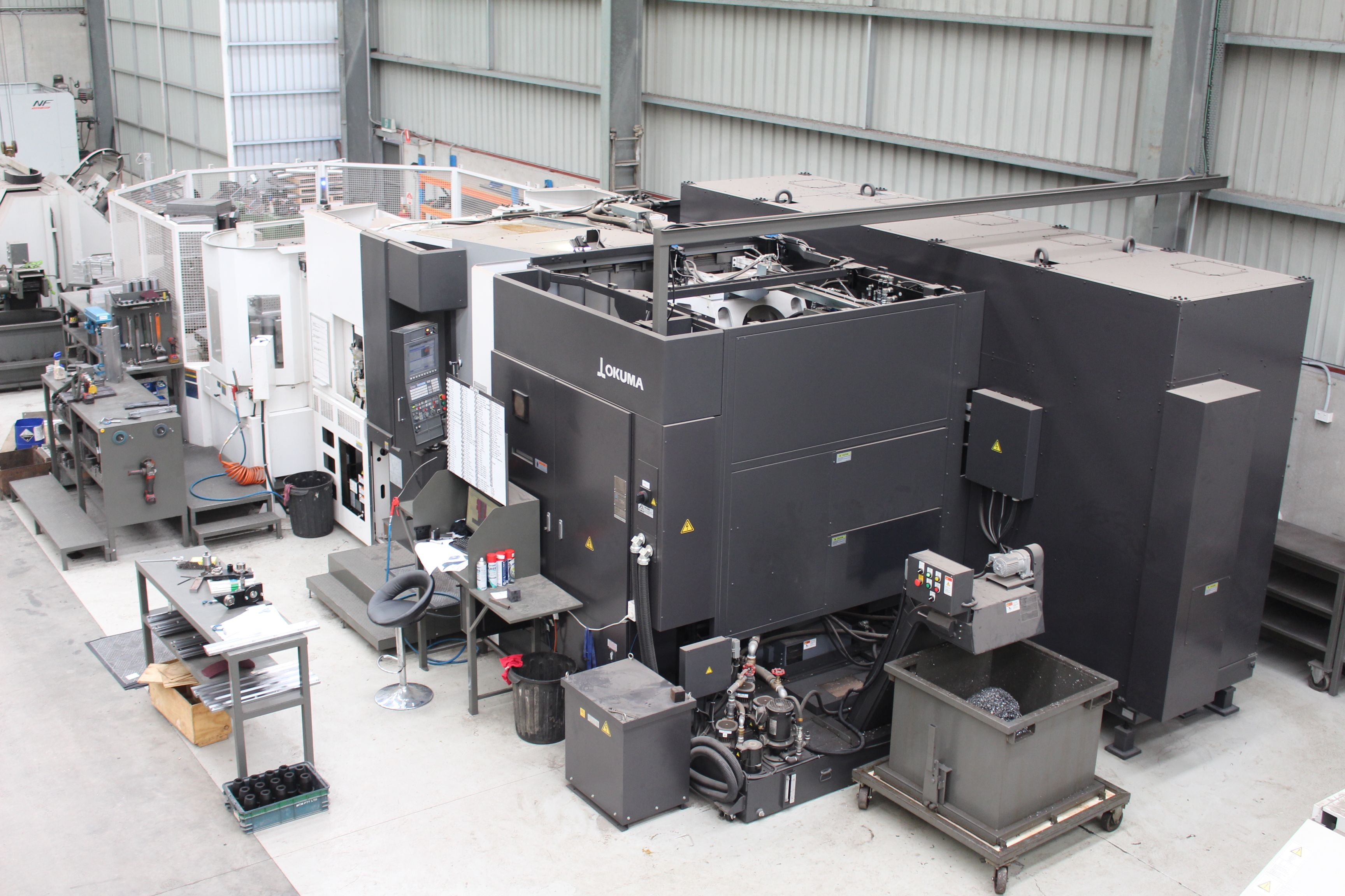 Okuma MA-600H at SWI Engineering, Warrnambool facility