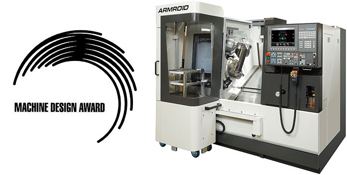 Okuma's ARMROID Next-Generation Robot System  Wins 49th Machine Design Award for Excellence (METI)