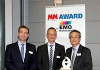 5-Axis Auto Tuning System wins MM Award at EMO 2013