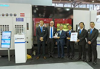 Okuma's LASER EX Series wins MM Award 2017